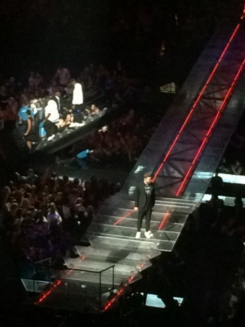 Justin Timberlake walks the aisle.