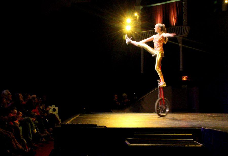 Pauline Petersen, the Unicycle Girl