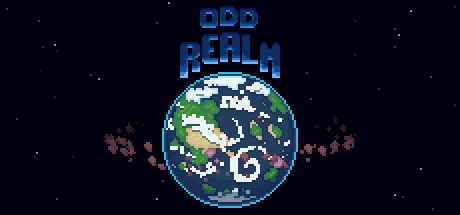 "Official title image of the game ""Odd Realm"" made by Waylon Snedker, the indie dev interviewed for this story."